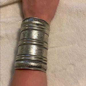 🌻Forever 21 Printed Cuff Bracelet 🌻